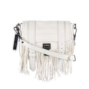 PROENZA SCHOULER WHITE FRINGE BAG